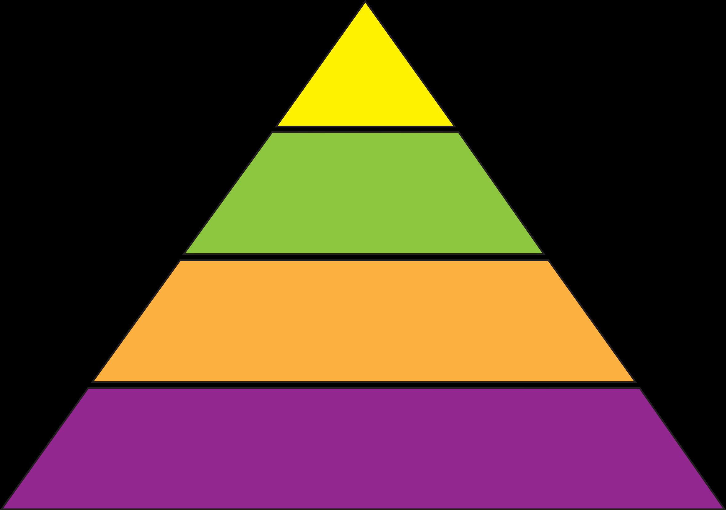 Triangular clipart pyramid. Can do the blog