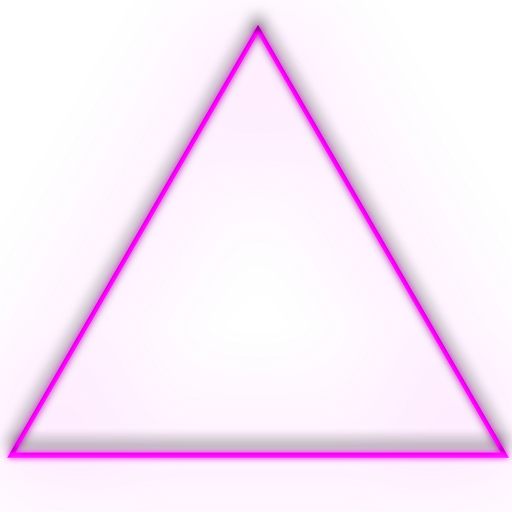 Ftestickers neon neonstickers triangle. Triangular clipart safety