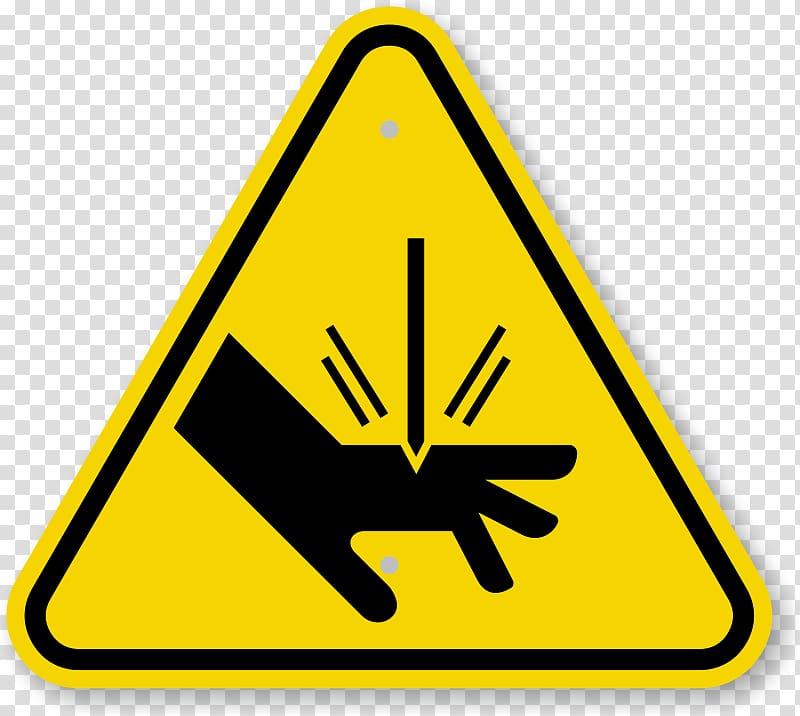 Biological hazard warning sign. Triangular clipart safety