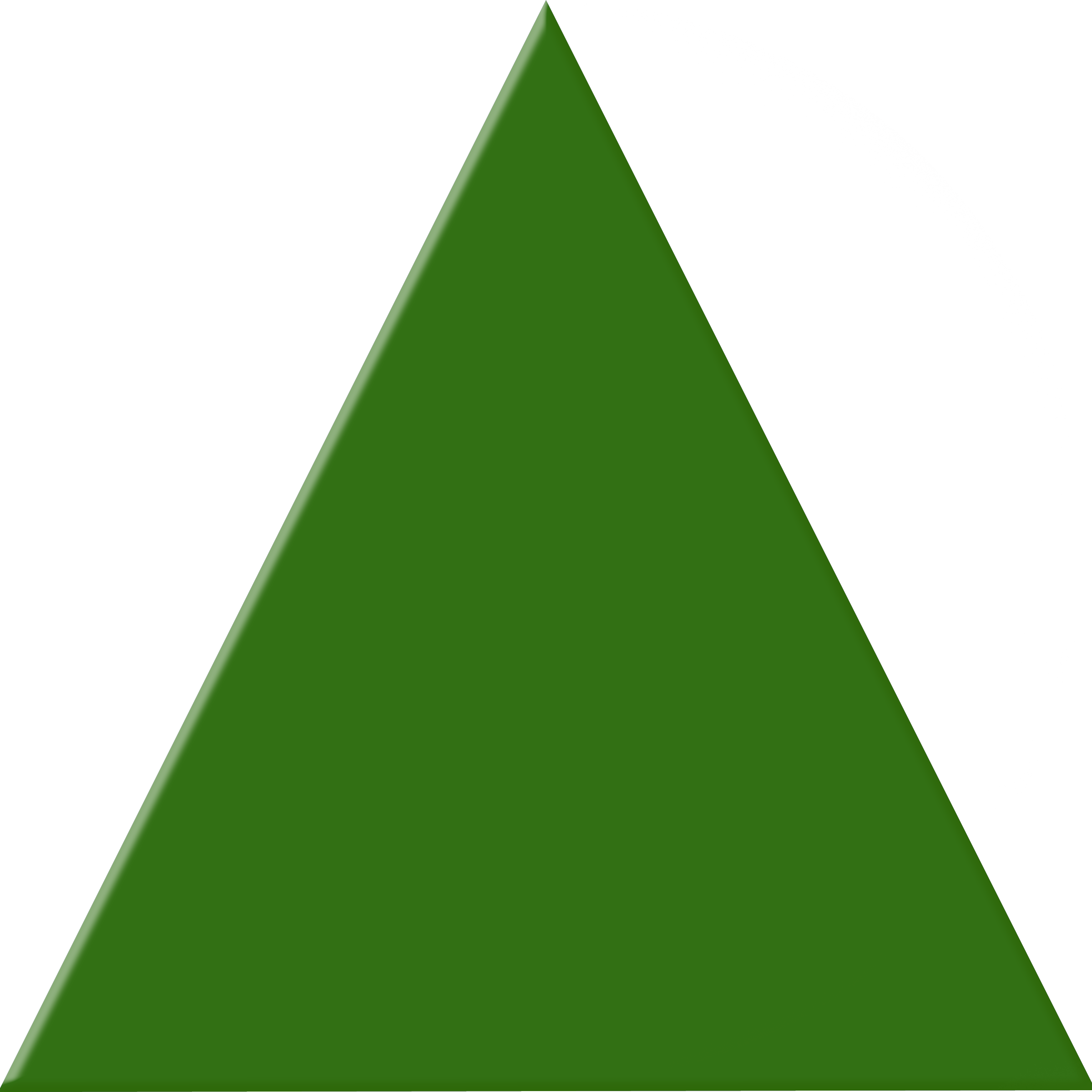 Green triangle free images. Triangular clipart teaching