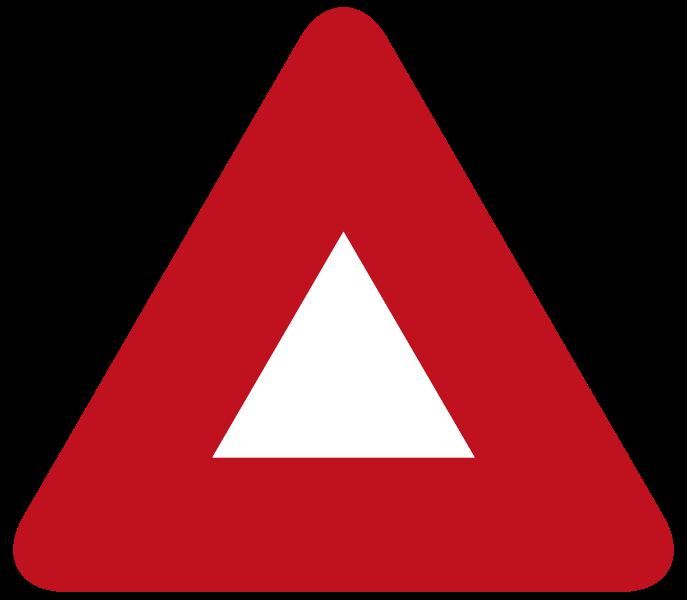 File australia triangle sign. Triangular clipart warning