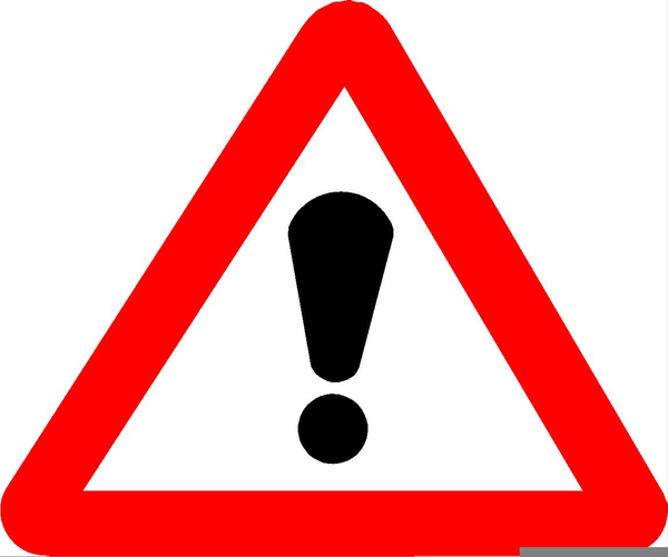 Triangle free images at. Triangular clipart warning