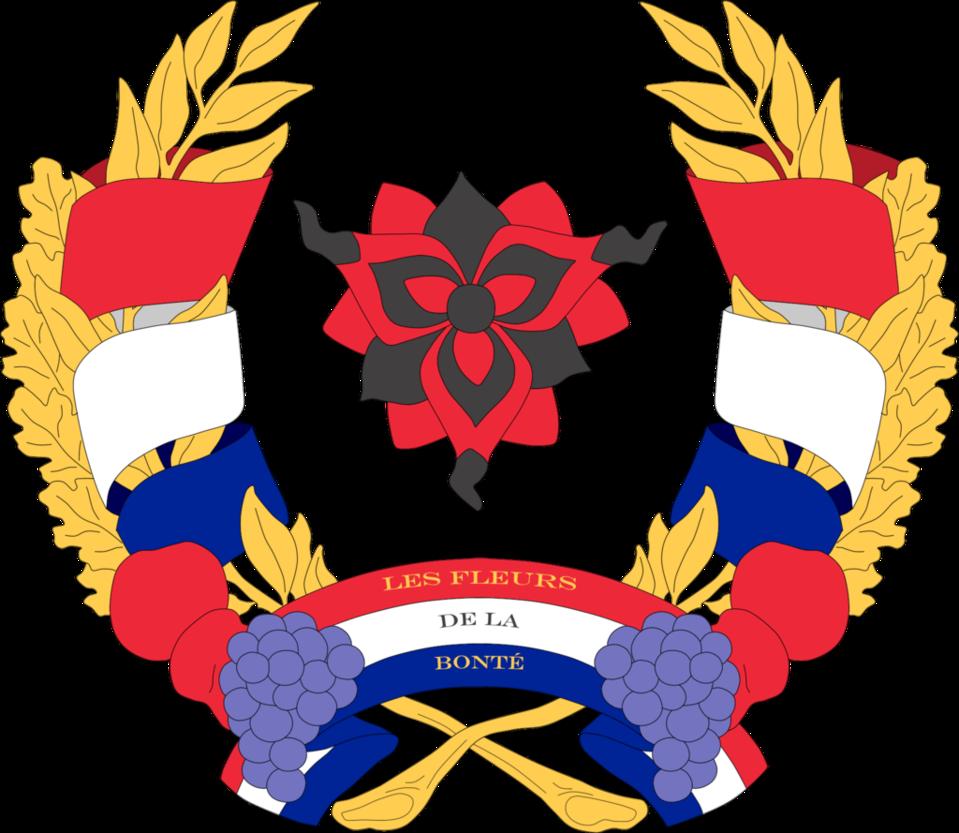 Wheat clipart heraldic. Kalos coat of arms