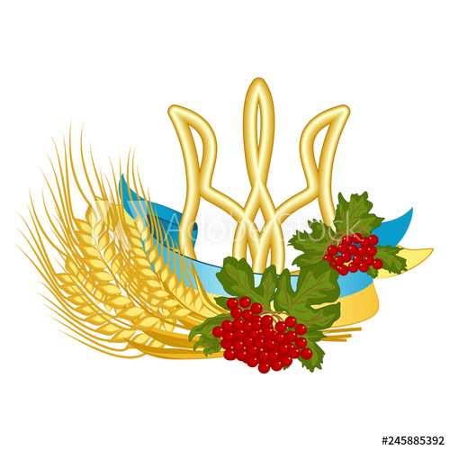 Wheat clipart symbolism. Coat of arms flag