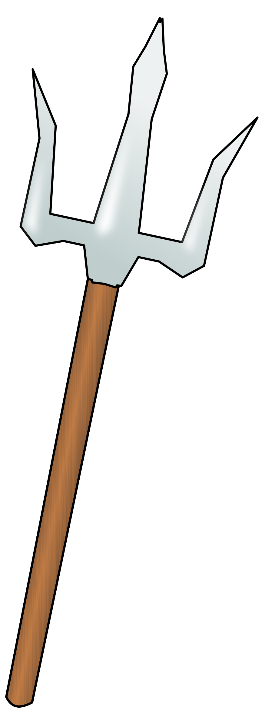 Trident clipart weapon. Big image png