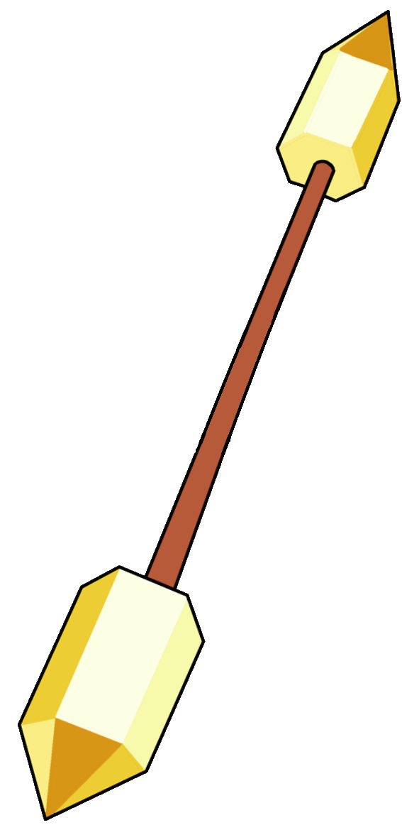 Trident clipart weapon. Gem weapons steven universe