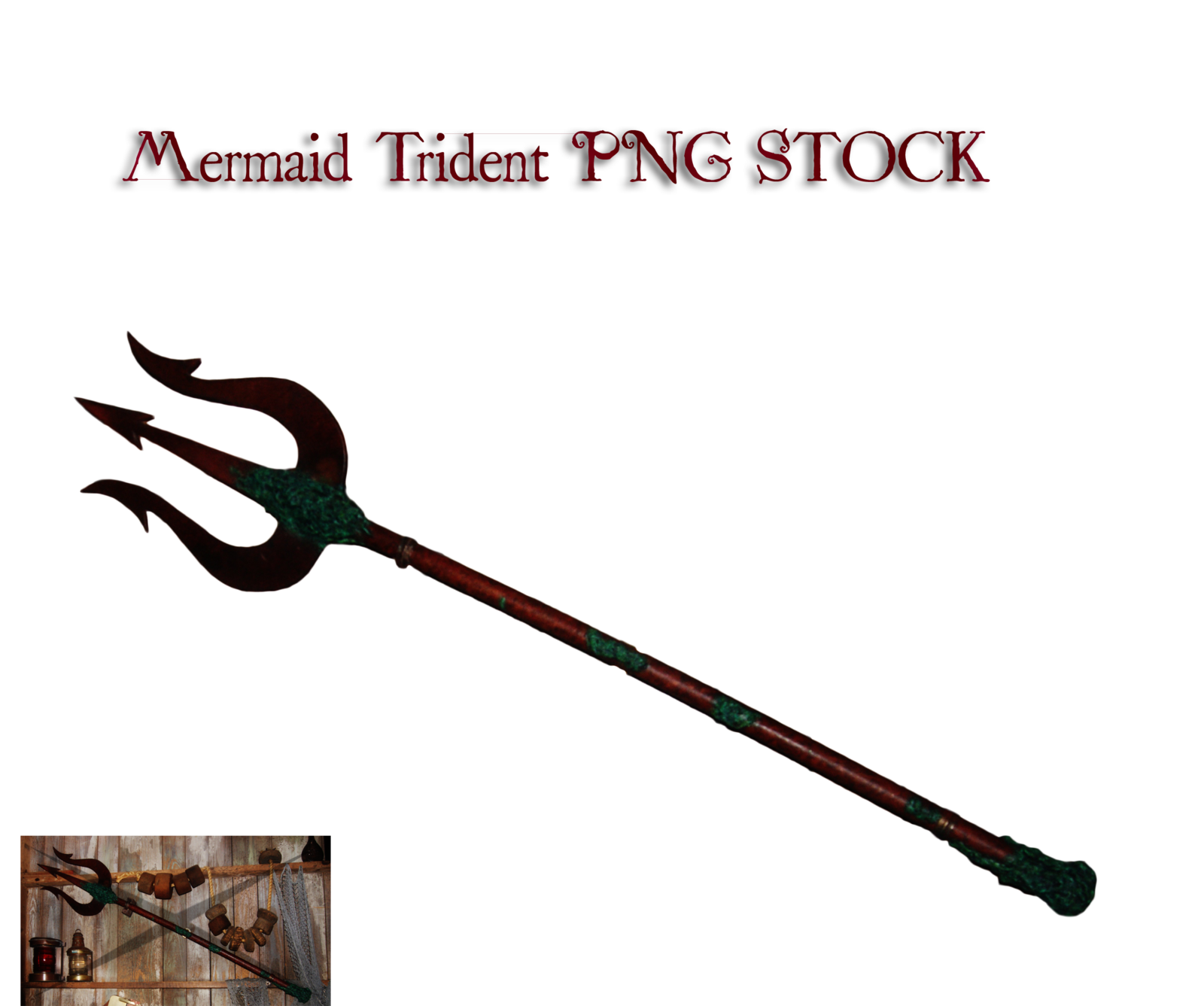 Trident clipart weapon.  mermaid png stock