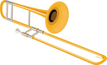 Search results for clip. Trombone clipart