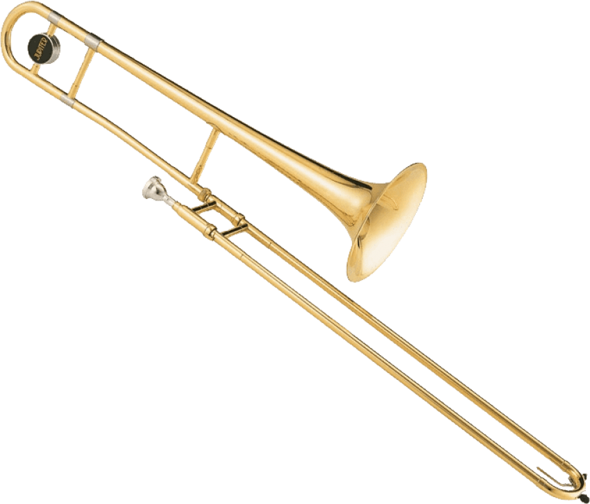 Png free images toppng. Trombone clipart instrument