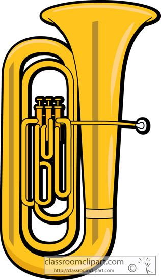 Trombone clipart instrument. Band instruments free download