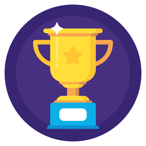 Sport achievment badges by. Trophy icon png