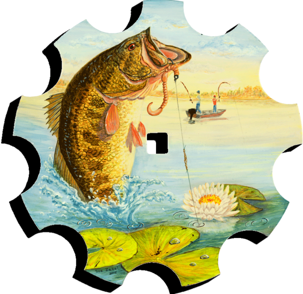 Trout clipart carp. Sue zabel artistic memories