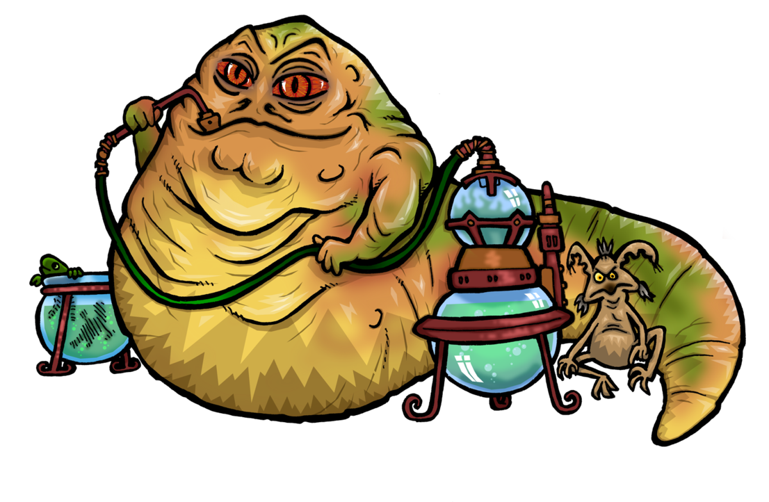 Trout clipart clip art. Jabba the hutt and