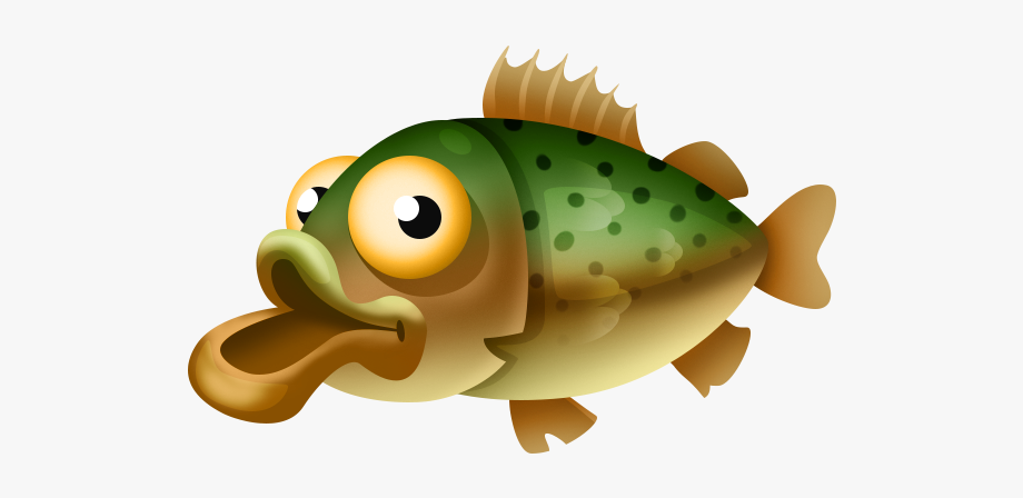 Trout clipart cool. Speckled cartoon yellow perch