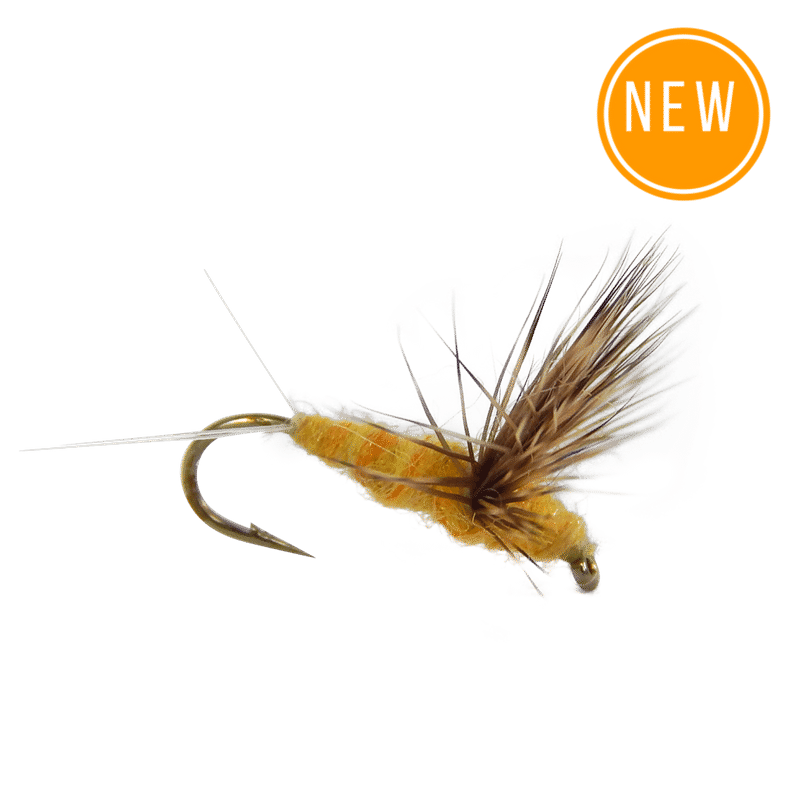 Mayfly emerger sulphur compara. Trout clipart dry fly