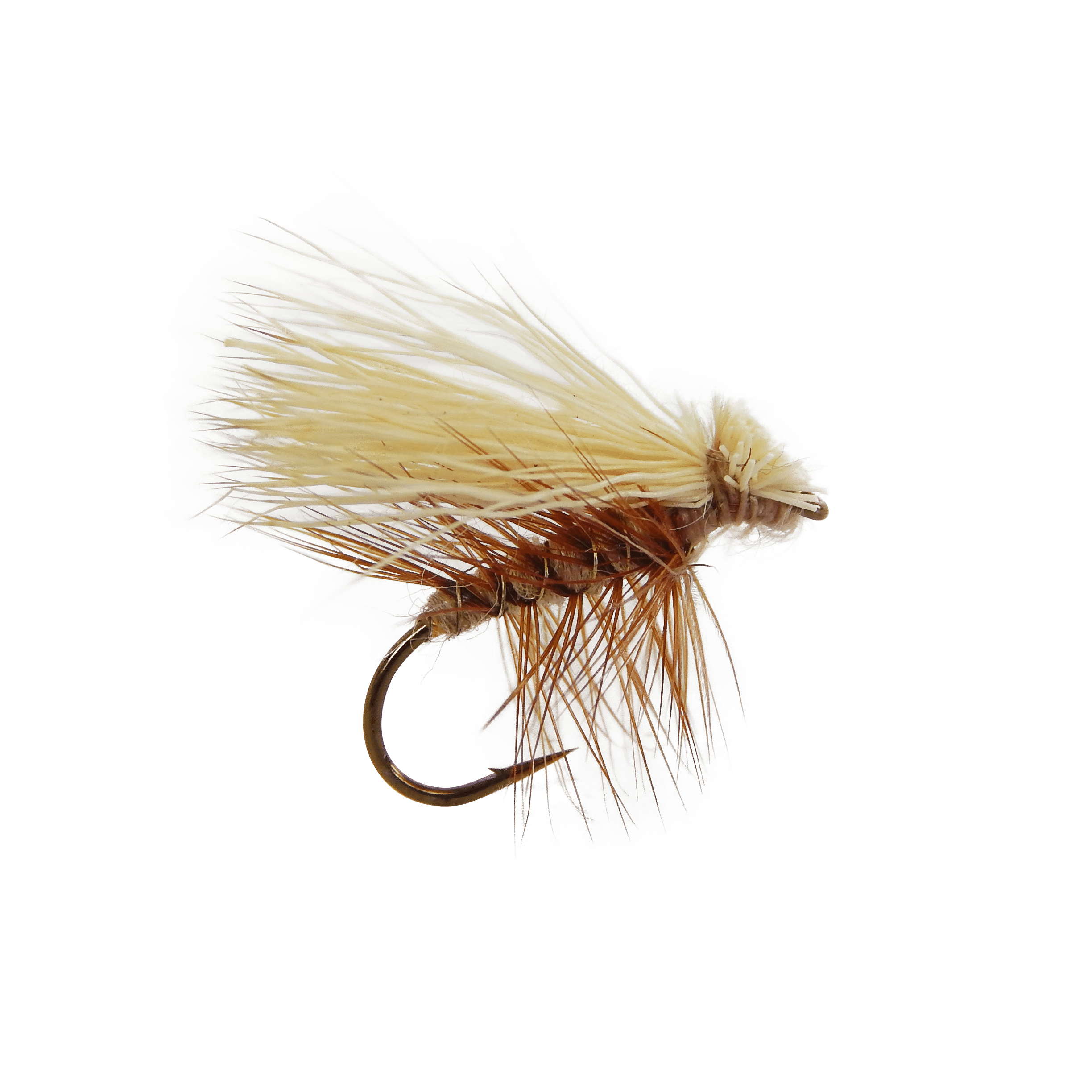 Trout clipart dry fly. Elk hair caddis the