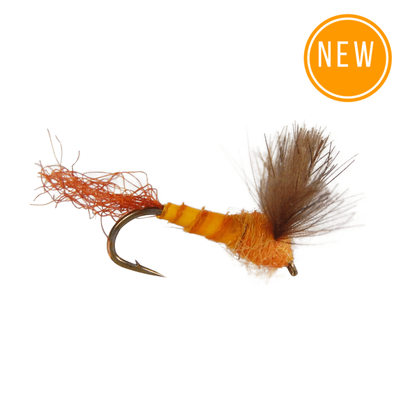 Trout clipart dry fly. Mayfly sulphur cdc sparkle
