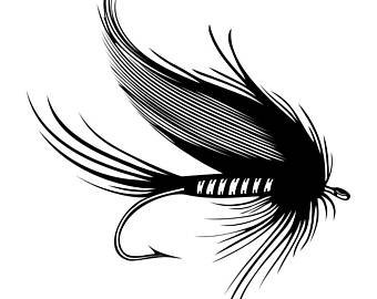 Lure svg etsy . Trout clipart fly fishing flies