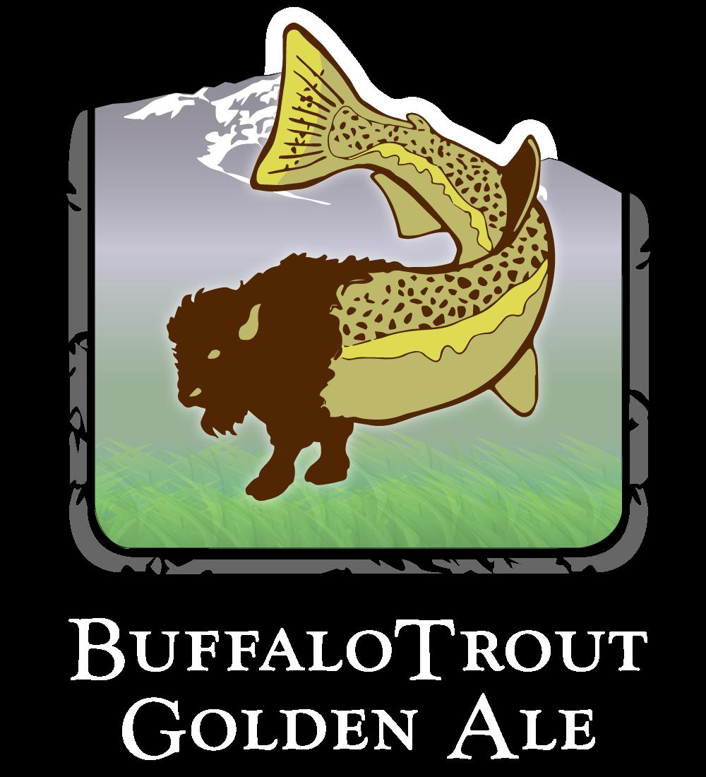 Buffalotrout ale lolo peak. Trout clipart golden trout