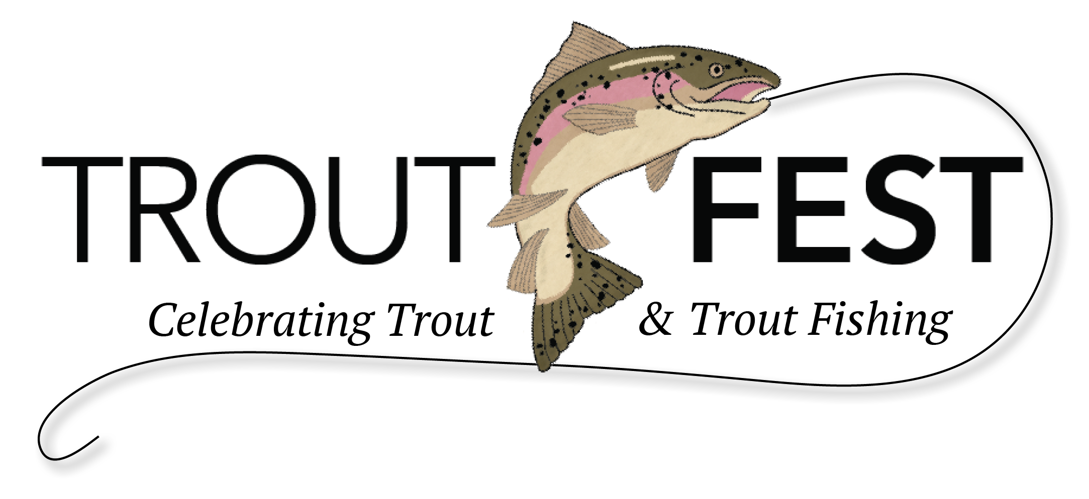 Fest celebrating and fishing. Trout clipart trout fisherman