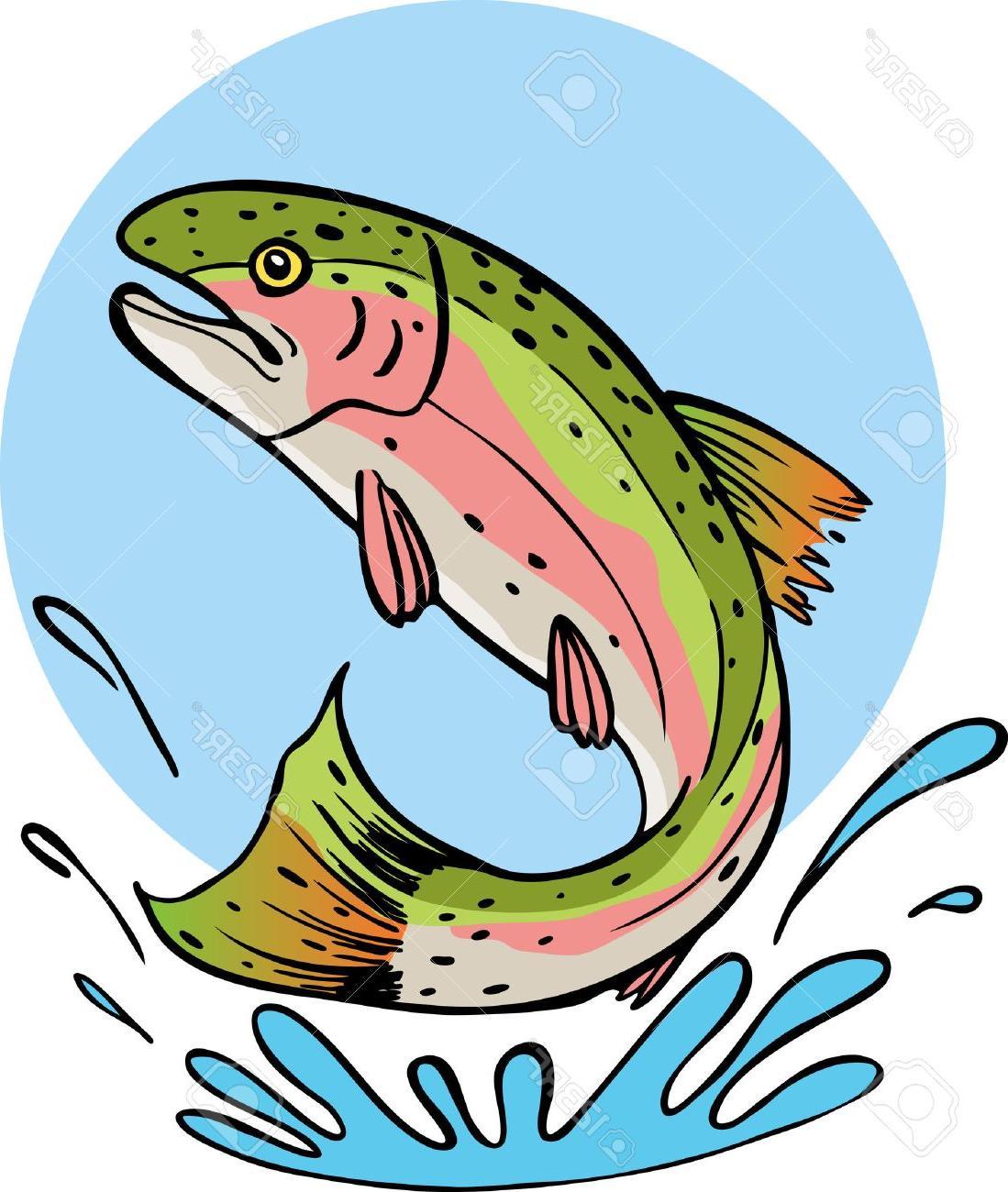 Top clip art pictures. Trout clipart vector