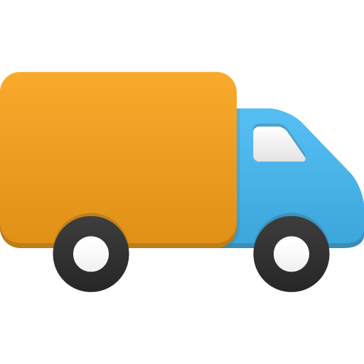 Flatastic iconset custom design. Truck icon png