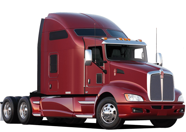 Truck png images. American red transparent stickpng