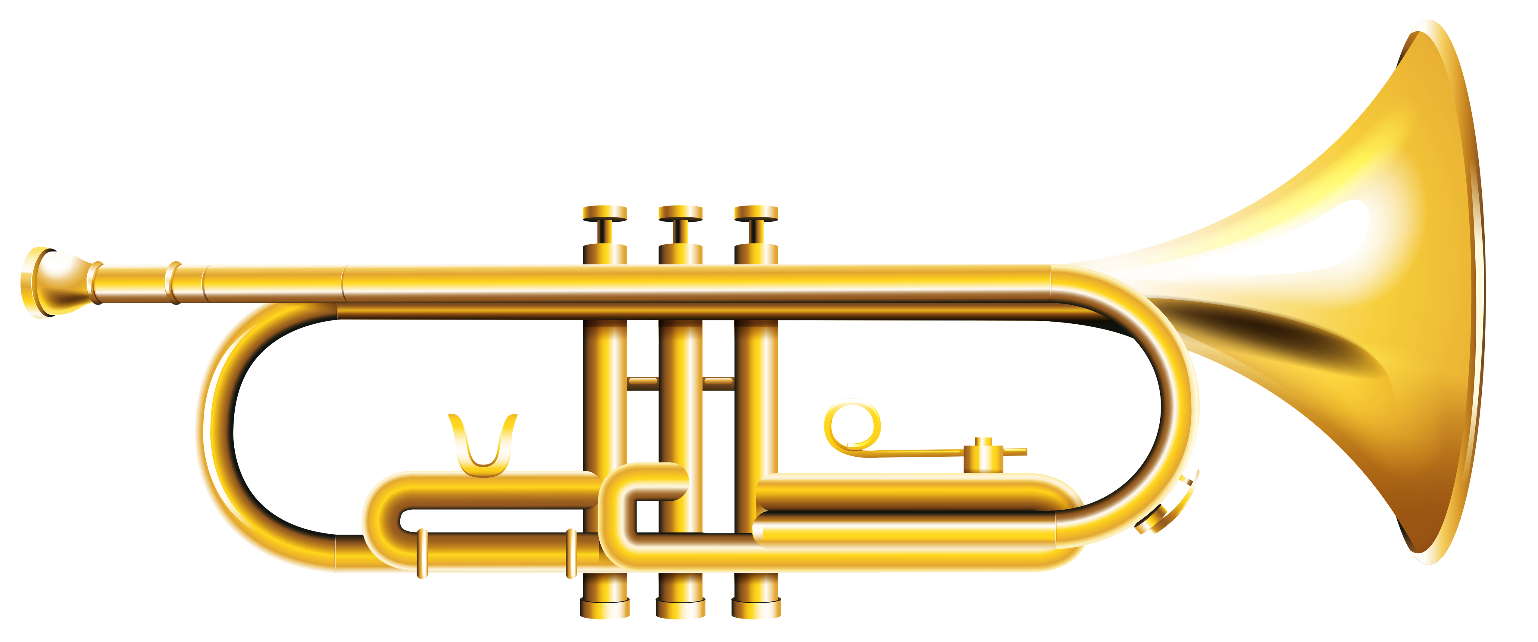 Transparent png gallery yopriceville. Trumpet clipart