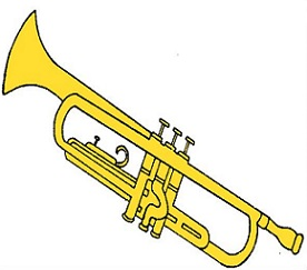 Trumpet clipart. Free