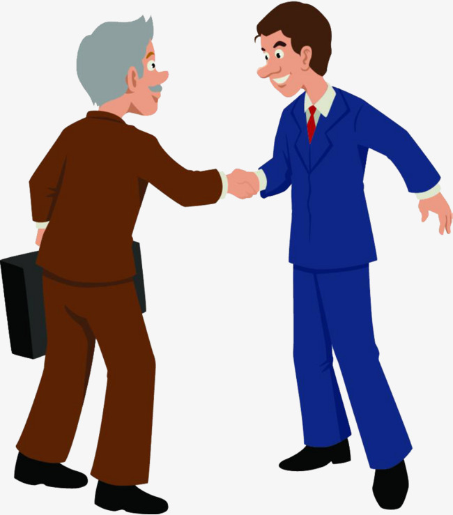 Trust clipart. Business mutual and cooperation