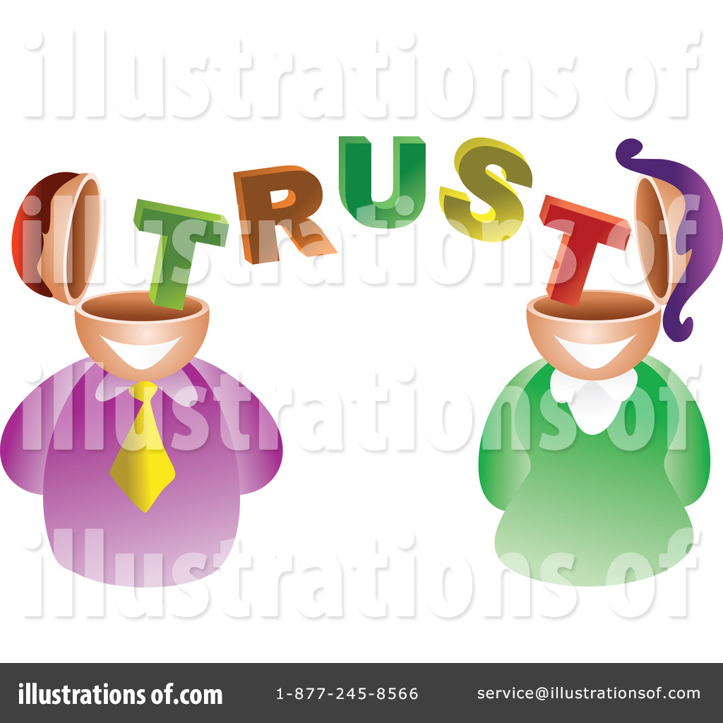 Illustration by prawny royaltyfree. Trust clipart