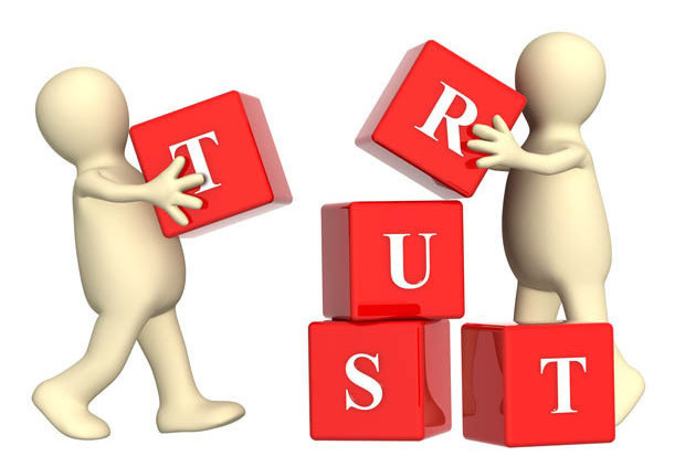 ways multichannel companies. Trust clipart building trust