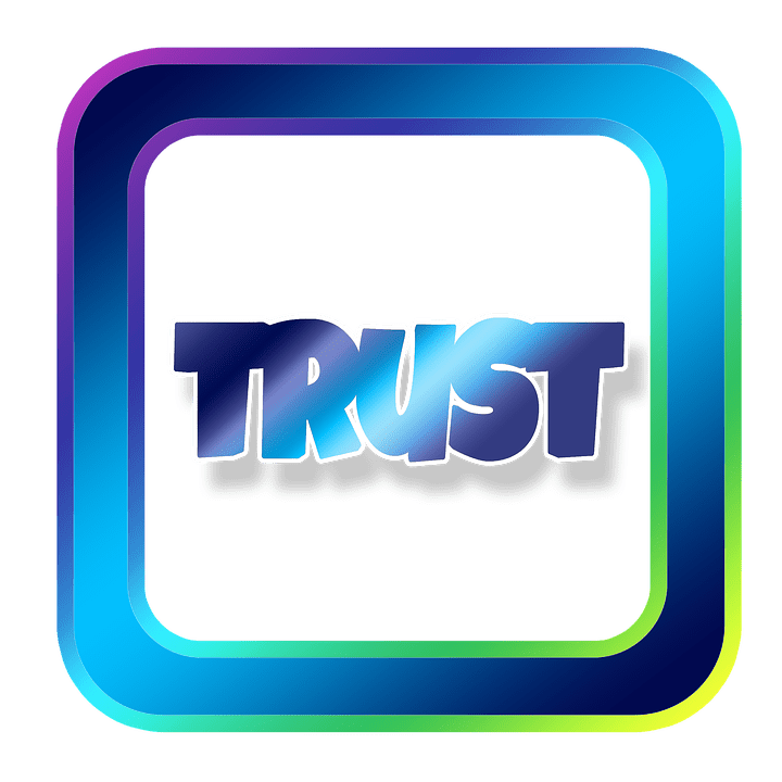 Trust clipart lack trust.  steps to great