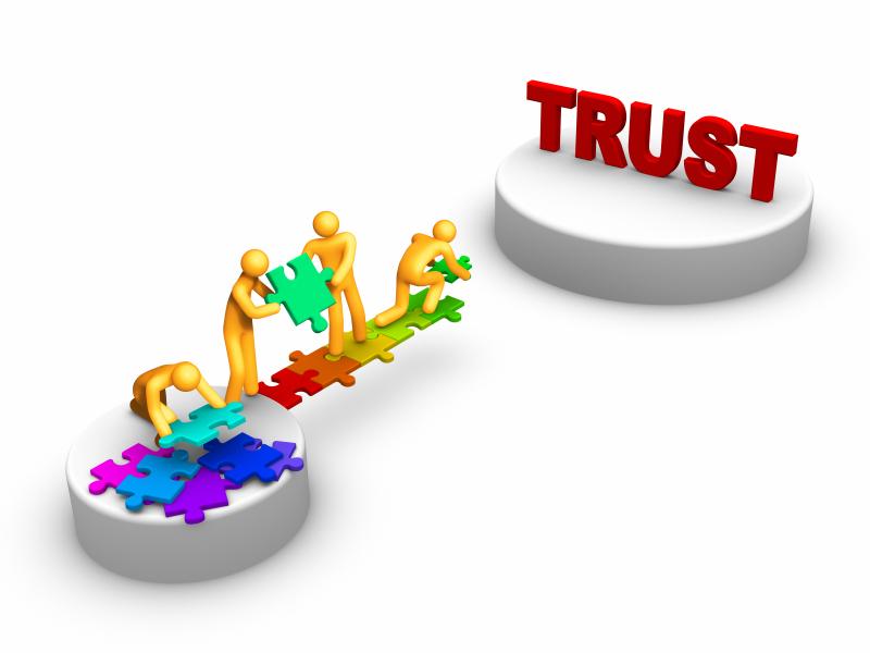 Balance of unlocking personal. Trust clipart lack trust