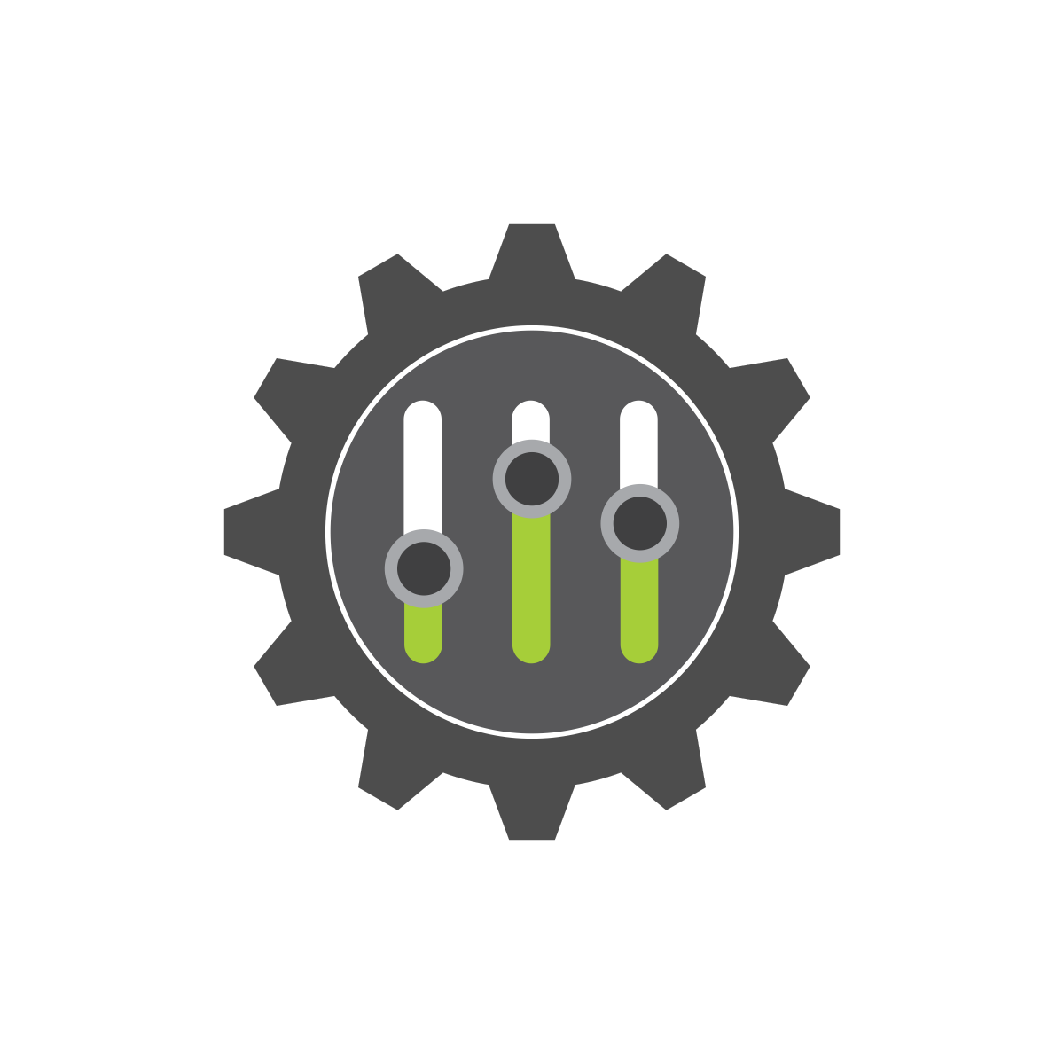 Orcid gear image symbolizing. Trust clipart respect symbol
