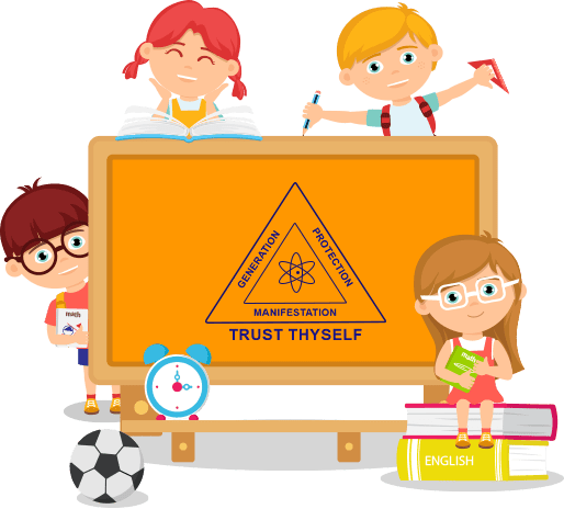 About divine school . Trust clipart student support