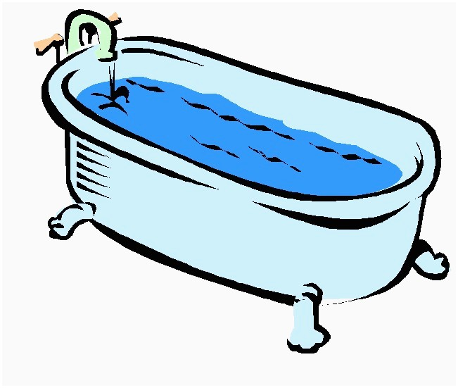 Bathtub free lovely bath. Tub clipart