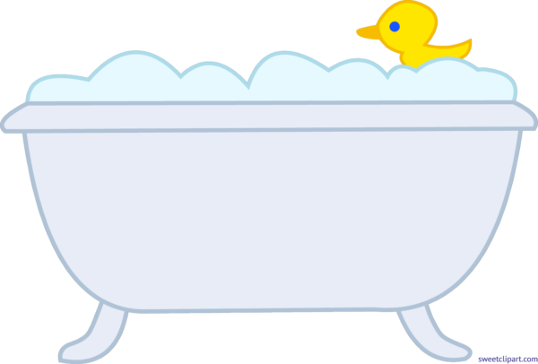 Sweet clip art page. Tub clipart