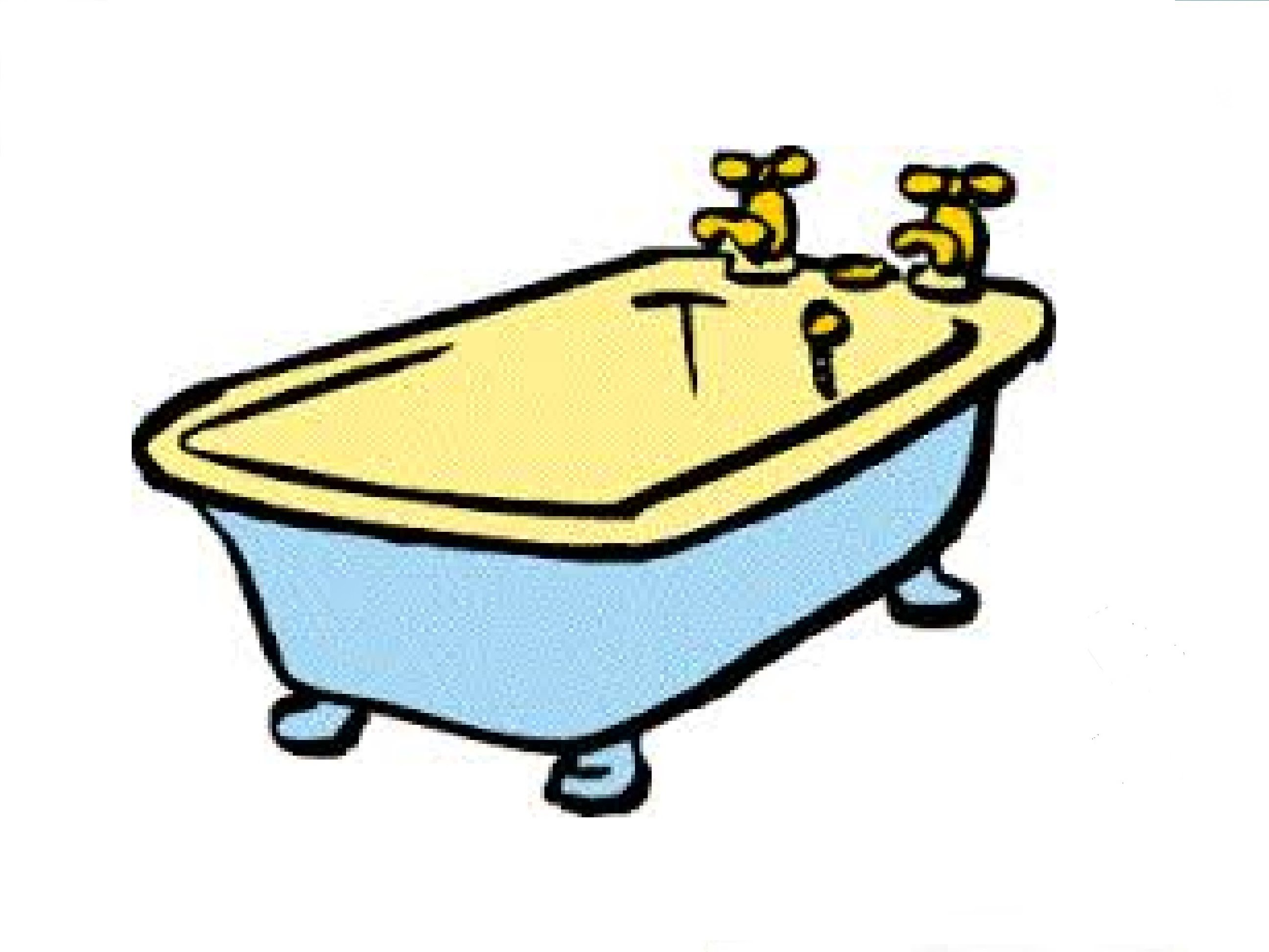 Drawing at getdrawings com. Tub clipart