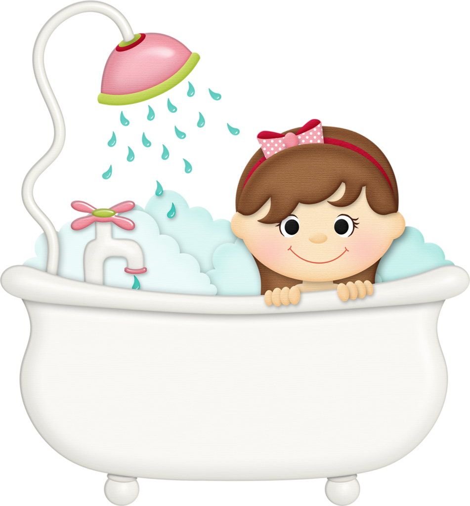 Jss squeakyclean girl png. Tub clipart bubble bath