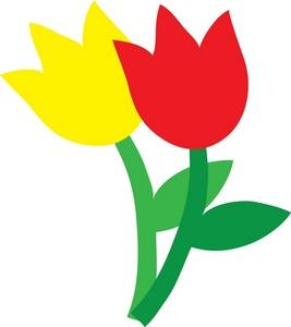 Panda free images clip. 3 clipart tulip