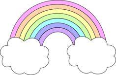 Tumblr clipart. Rainbow