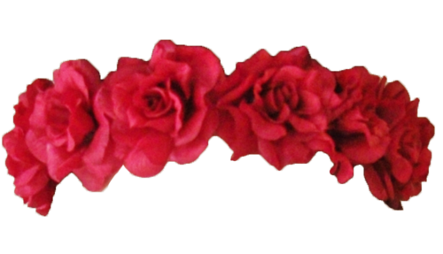 for free download. Red flower crown png