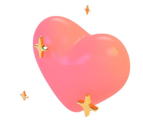 Tumblr hearts png. Transparentsticker blg