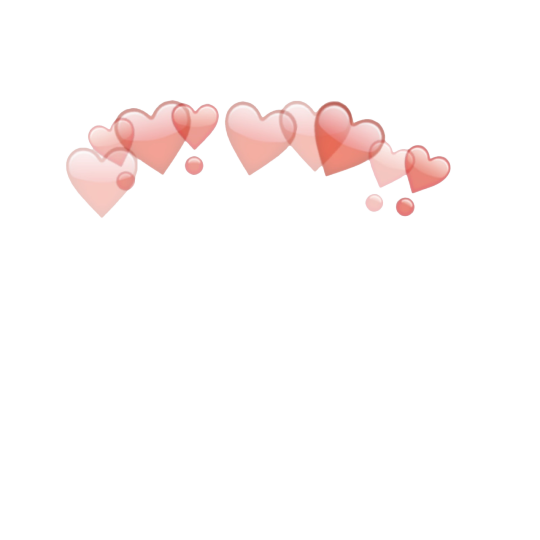 Overlays here you go. Tumblr hearts png