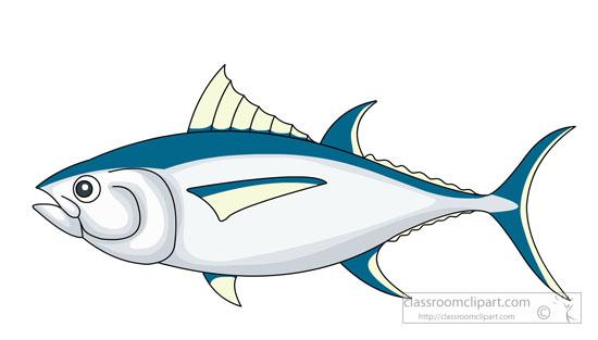 Tuna clipart. Fish yellowfin classroom fishyellowfintunaclipartjpg