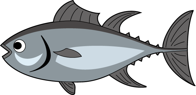 Tuna free . Clipart panda fish