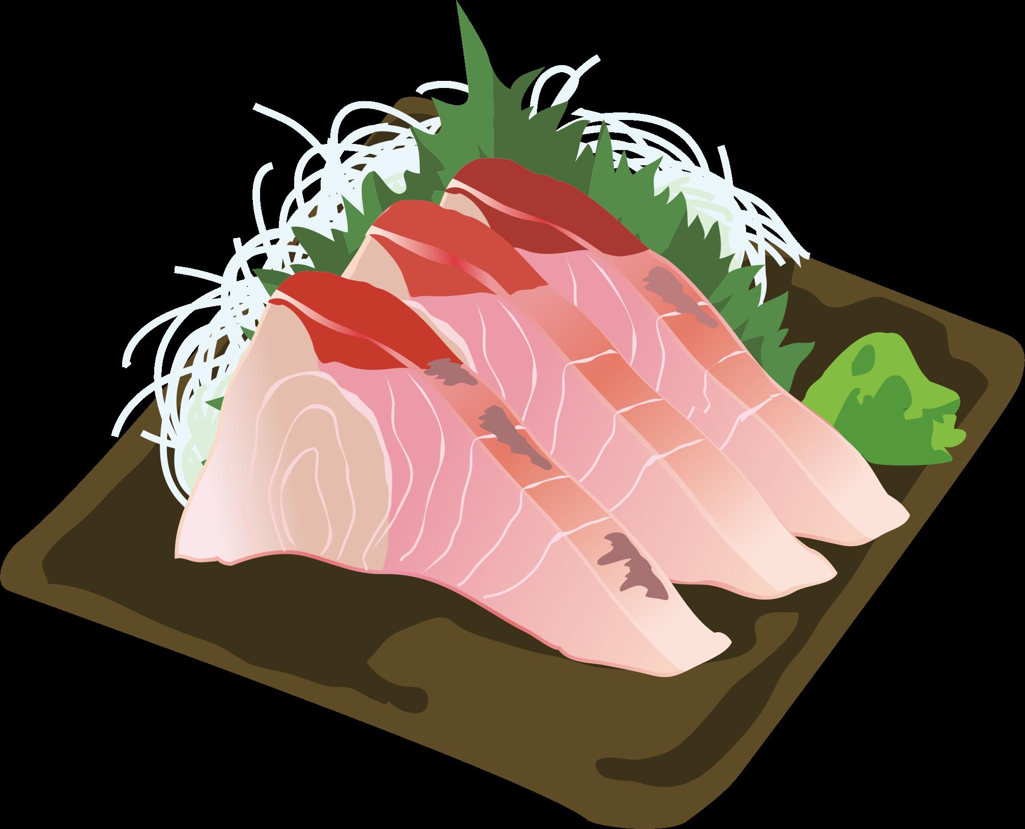Sashimi icons png free. Tuna clipart amberjack