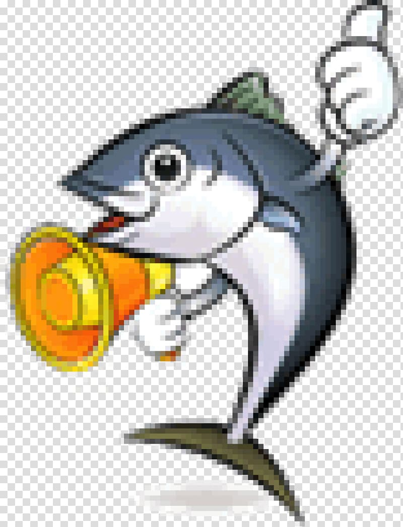 Thunnus sushi cartoon fish. Tuna clipart animated