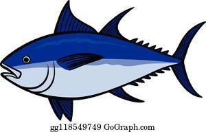 Tuna clipart bluefin tuna. Clip art royalty free